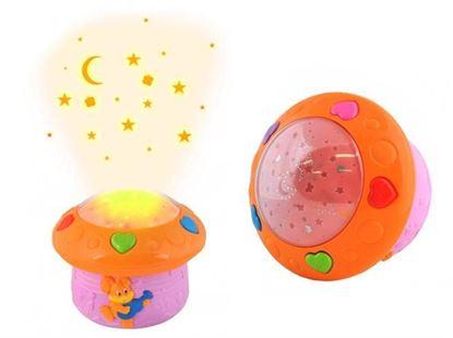 Obrázek Noční lampička s projektorem