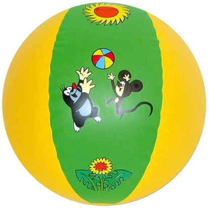Obrázek Nafukovací míč 51 cm - Krteček