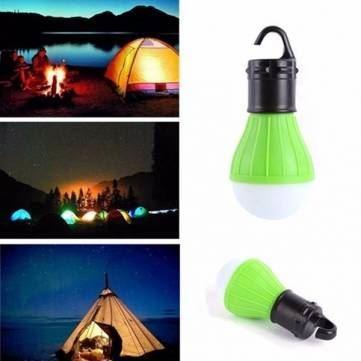 Obrázek LED žárovka - zelená