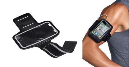 Obrázek Obal na mobil na paži - černá