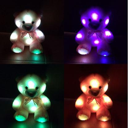 Obrázek Svítící medvídek - růžový
