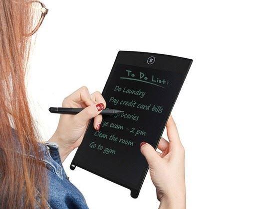 Obrázek z LCD tabulka na vzkazy