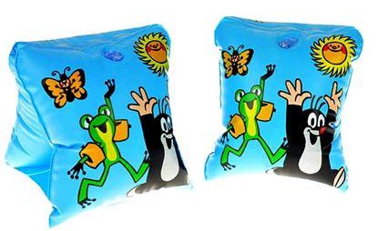 Obrázek Nafukovací rukávky - Krteček - modré