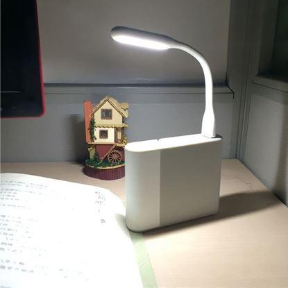 Obrázek USB světlo k notebooku - bílé