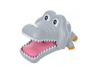 Obrázek Držák na kartáček krokodýl - šedý
