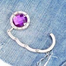 Obrázek Háček na kabelku - fialový