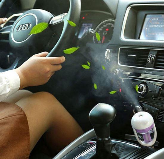Obrázek z Difuzér na vůni do auta s USB